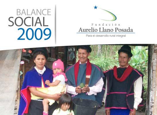 Balance Oficial 2009 Fundación Aurelio Llano Posada