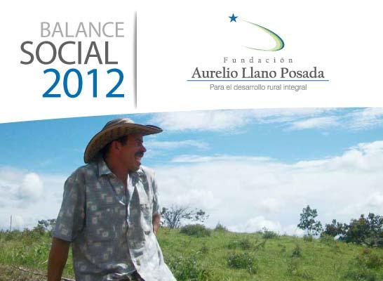 Balance Oficial 2012 Fundación Aurelio Llano Posada
