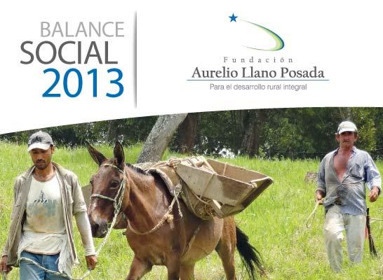 Balance Oficial 2013 Fundación Aurelio Llano Posada