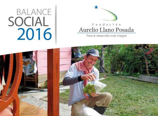 Balance Oficial 2016 Fundación Aurelio Llano Posada