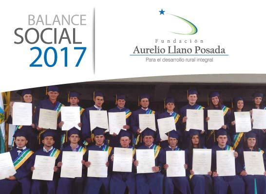 Balance Oficial 2017 Fundación Aurelio Llano Posada
