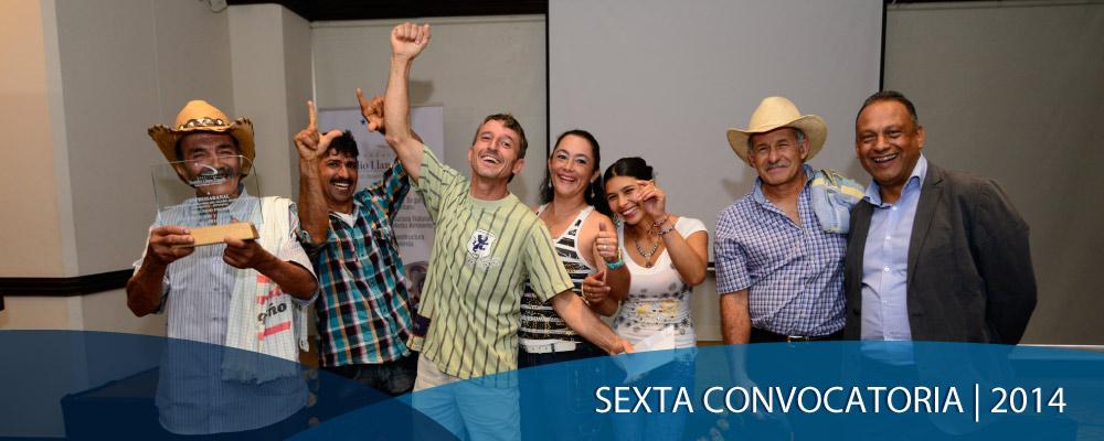 Sexta convocatoria | 2014 Premios Aurelio Llano Posada, Medellín