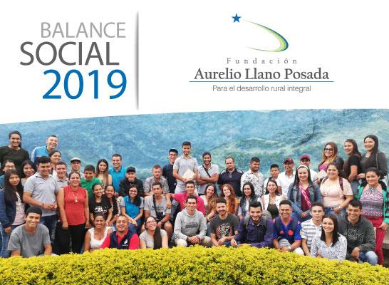 Balance Oficial 2019 Fundación Aurelio Llano Posada
